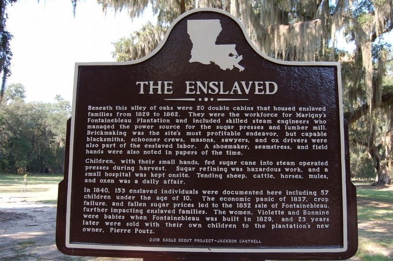 The Enslaved Marker image. Click for full size.