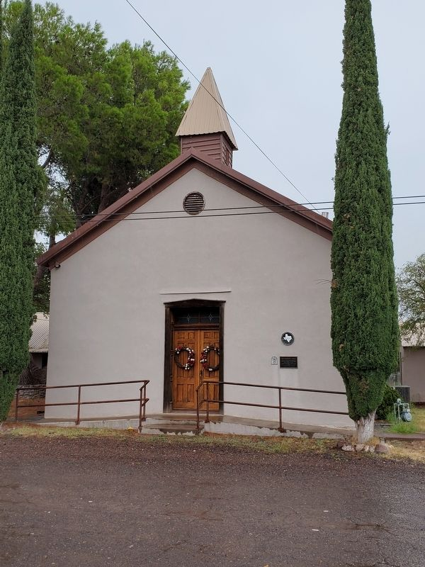 Fort Davis United Methodist Church image. Click for full size.