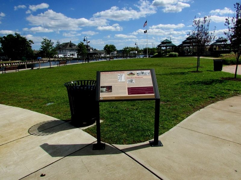 The British Attack Toms River Marker image. Click for full size.