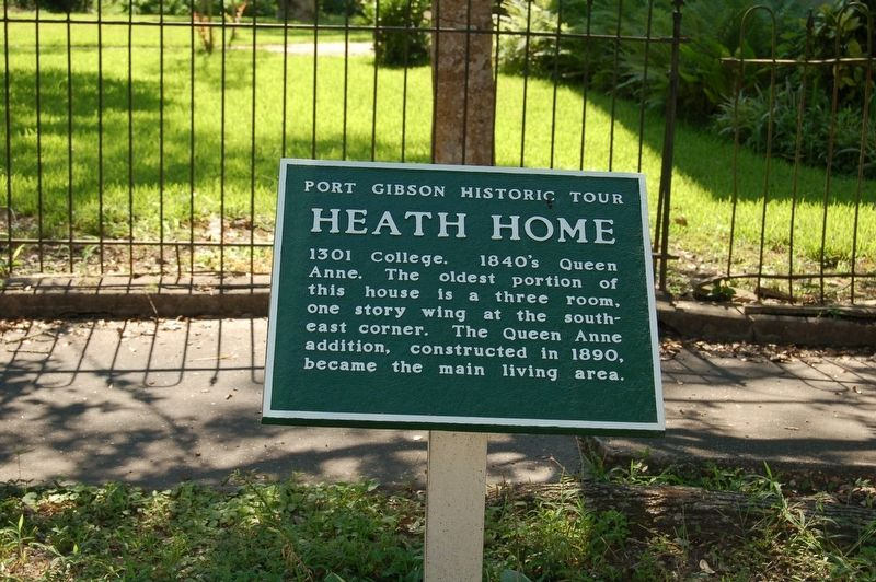 Heath Home Marker image. Click for full size.