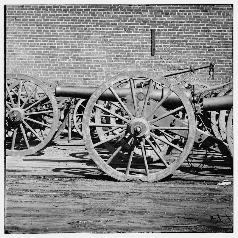 Richmond, Virginia. A light Brooke rifle. (3-inch gun) image. Click for full size.