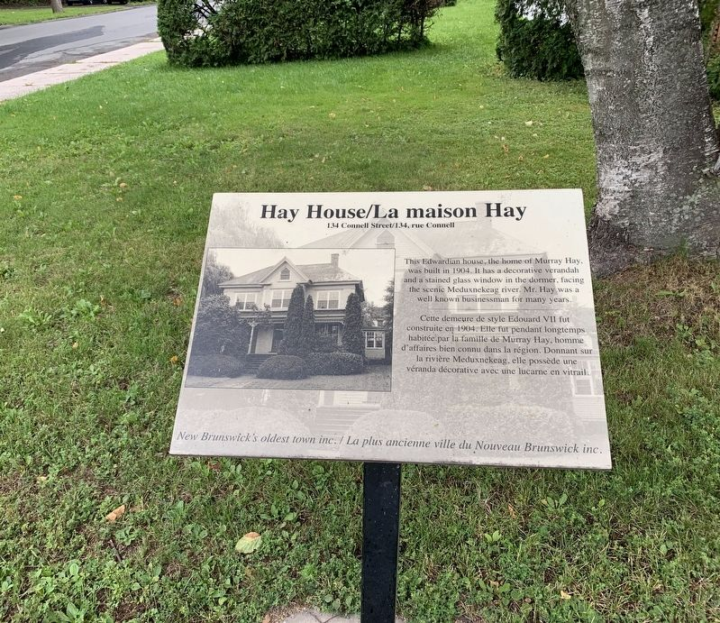 Hay House Marker image. Click for full size.