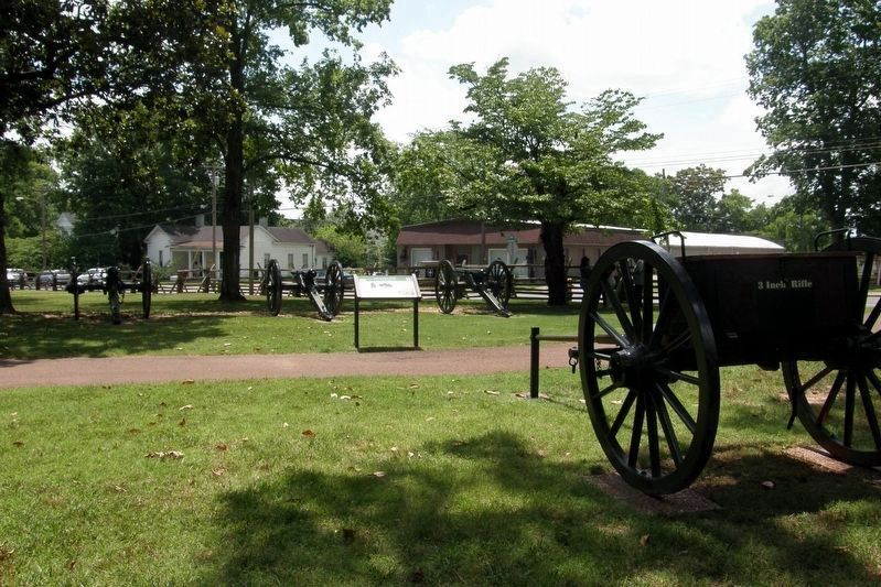 1st Kentucky Light Artillery Battery image. Click for full size.