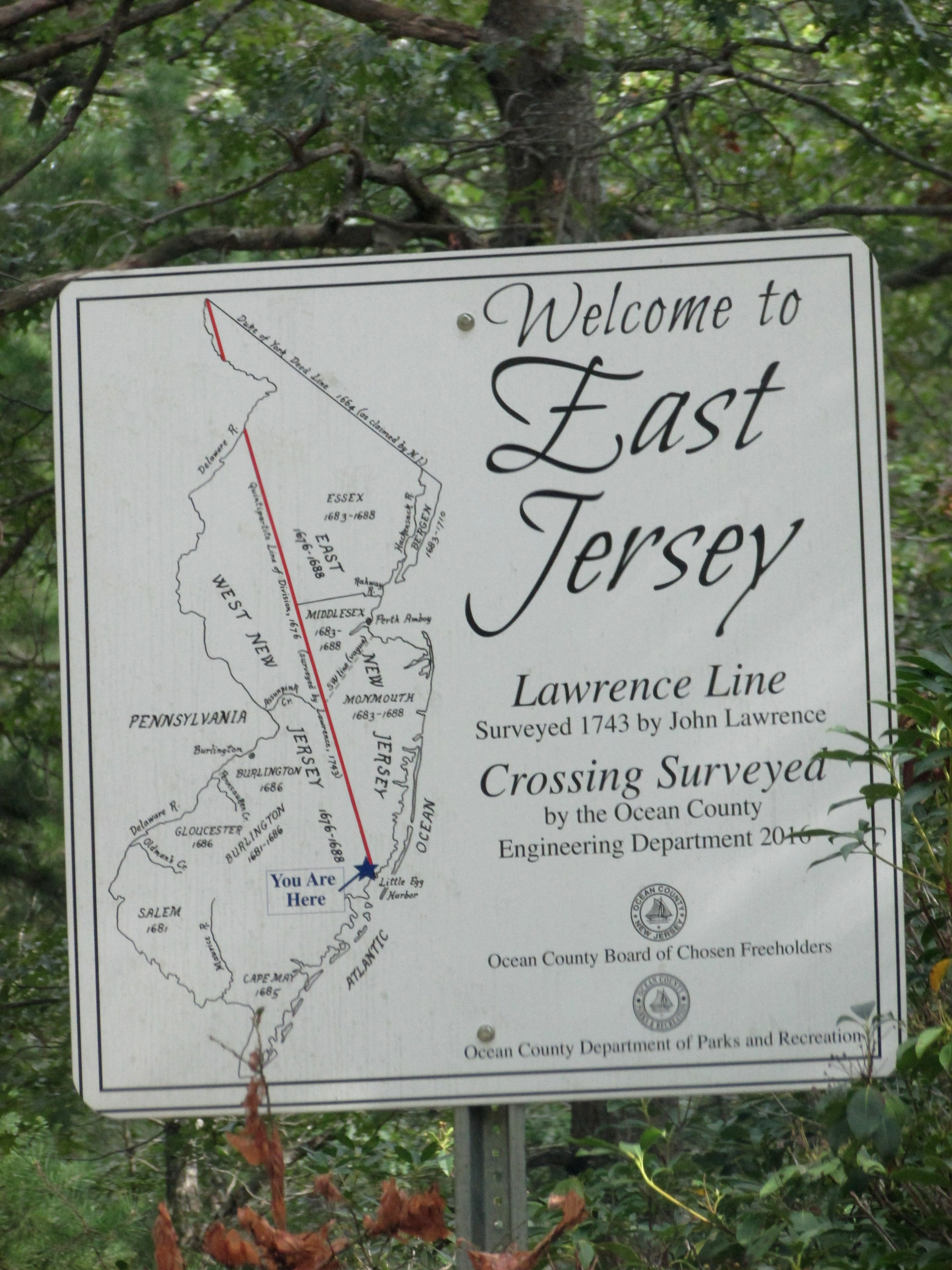 Welcome to East Jersey Marker