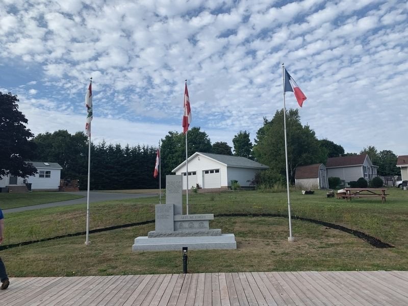 North Rustico War Memorial image. Click for full size.
