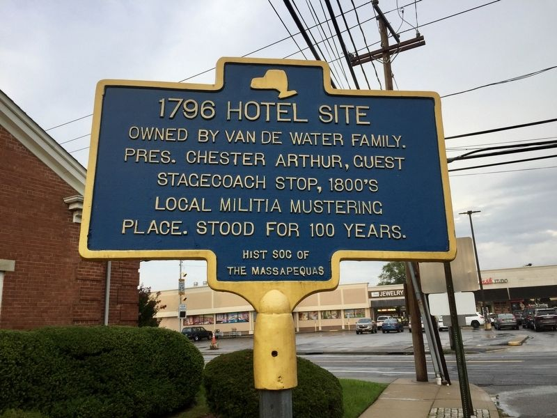 1796 Hotel Site Marker image. Click for full size.