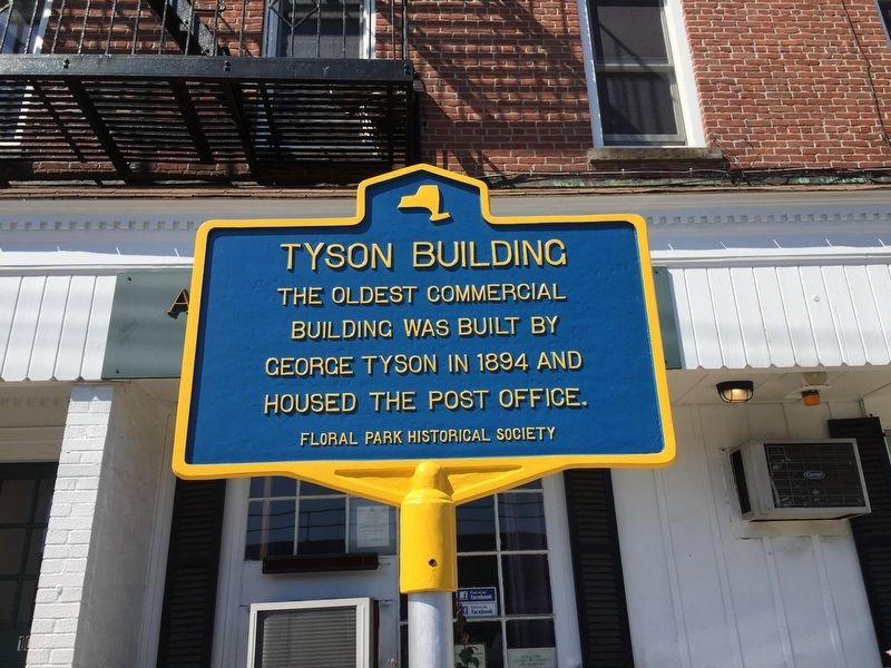 Tyson Building Marker image. Click for full size.