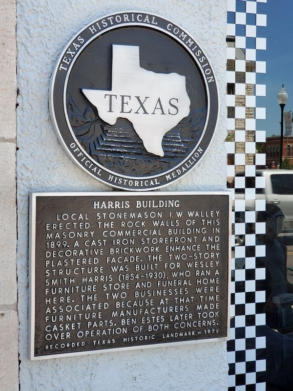Harris Building Marker image. Click for full size.