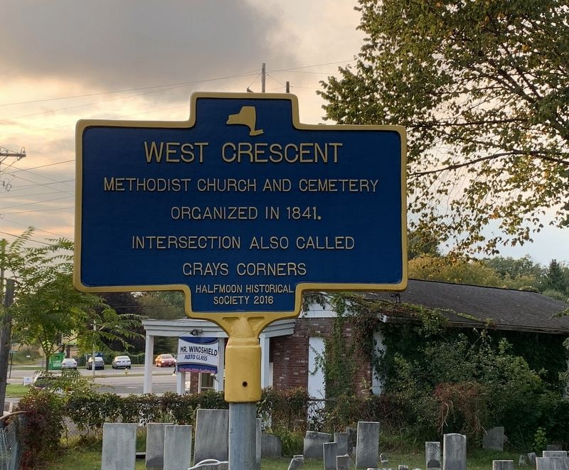 West Crescent Marker image. Click for full size.