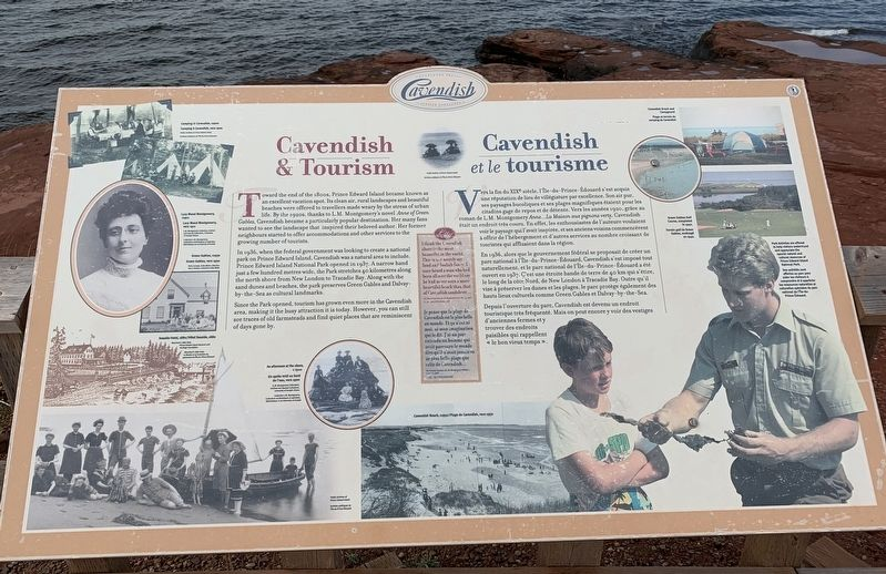 Cavendish and Tourism Marker image. Click for full size.