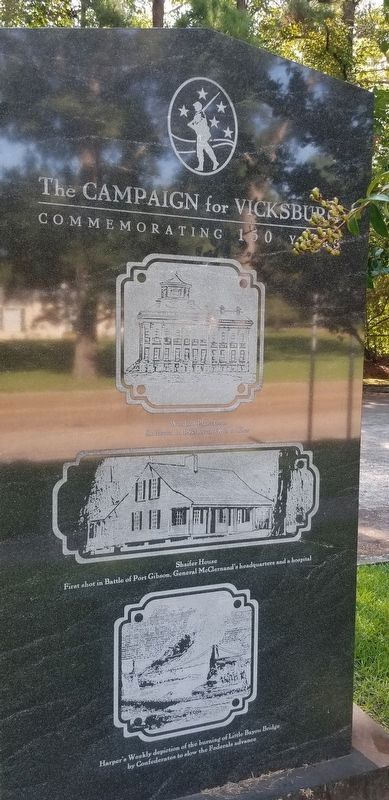 The Vicksburg Campaign and Siege Marker image. Click for full size.