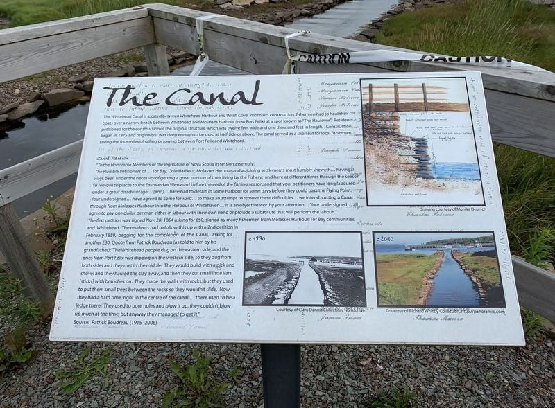 The Canal Marker image. Click for full size.