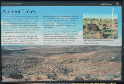 Ancient Lakes Marker image. Click for full size.