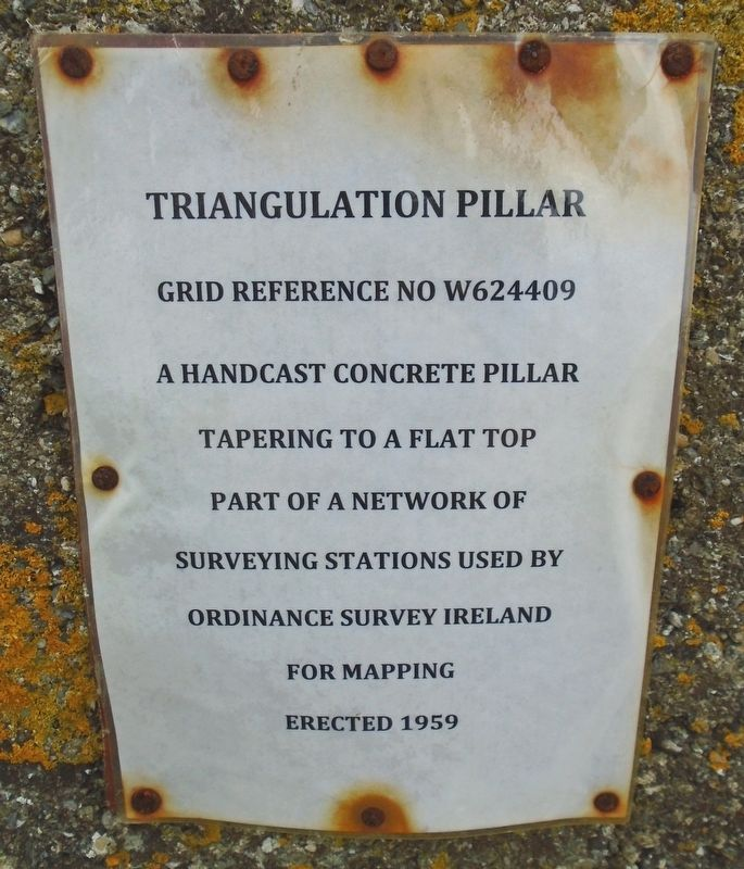 Triangulation Pillar Marker image. Click for full size.