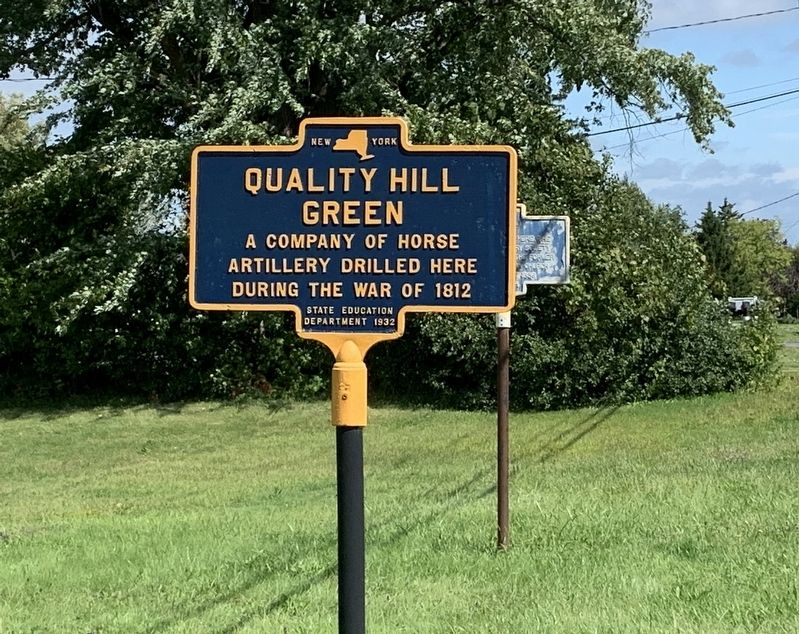 Quality Hill Green Marker image. Click for full size.