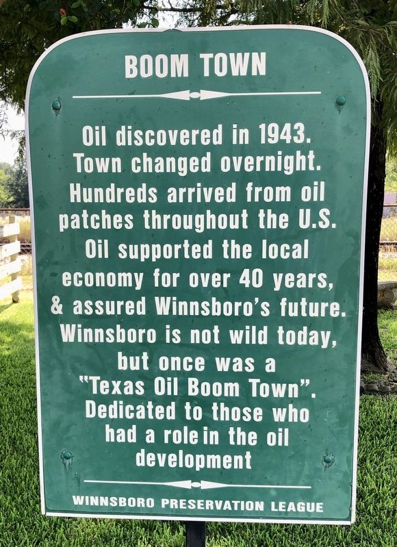 Boom Town Marker image. Click for full size.