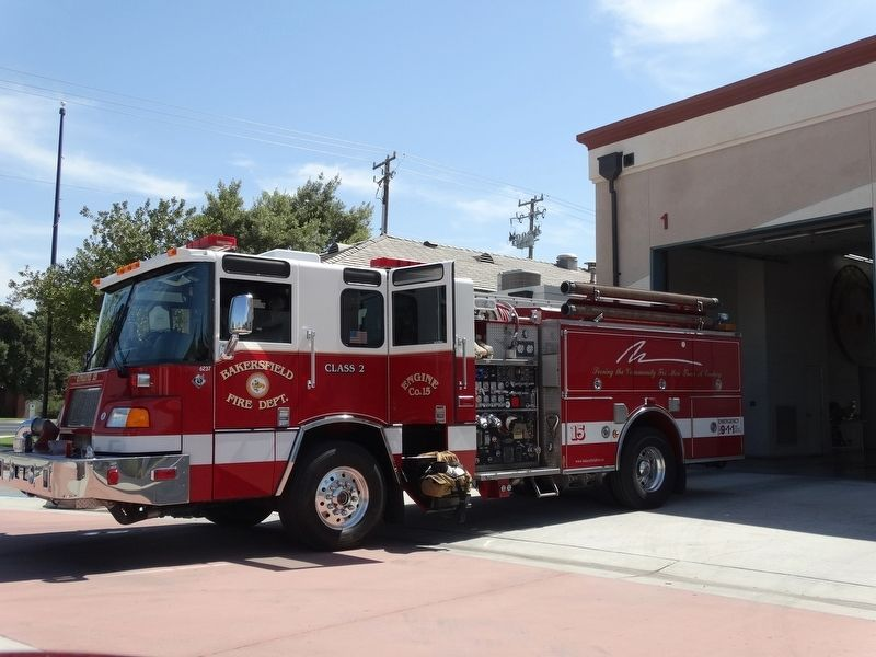 Bakersfield Firestation 15 image. Click for full size.