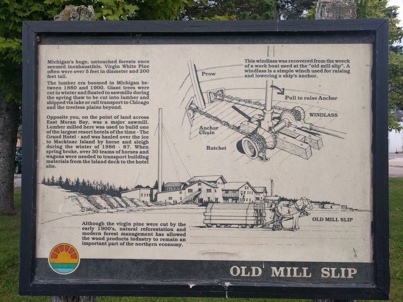 Old Mill Slip Marker image. Click for full size.