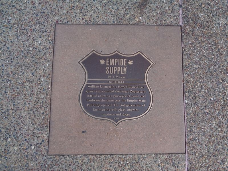 Empire Supply Marker image. Click for full size.