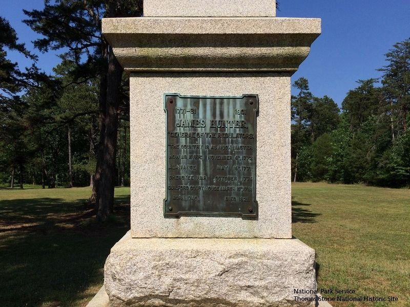 The Battle of Alamance Monument. Also known as the Colonial Column. image. Click for full size.