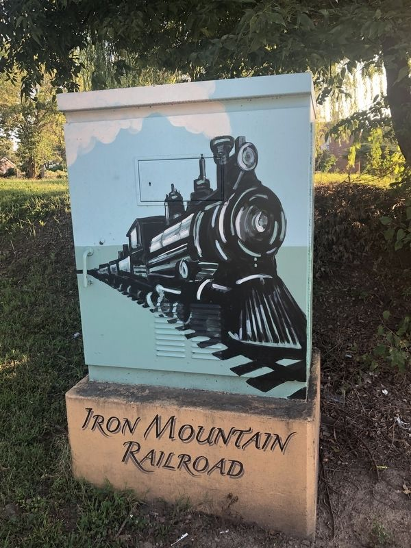 Iron Mountain Railroad Marker image. Click for full size.