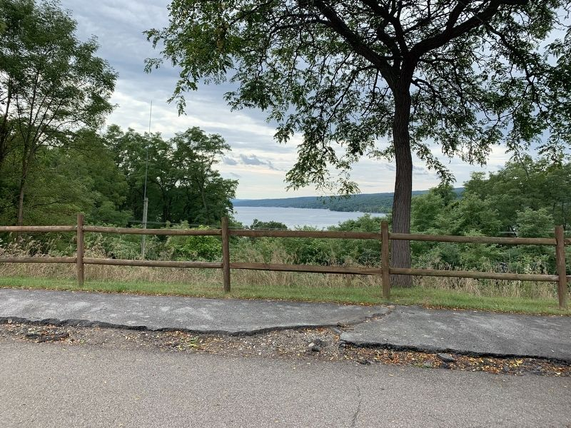 Keuka Lake View from rest area image. Click for full size.