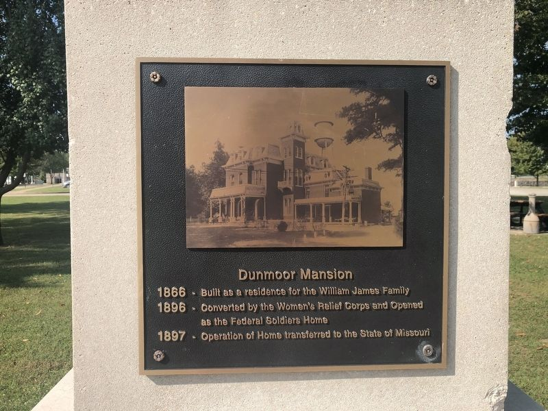 Dunmoor Mansion Marker image. Click for full size.