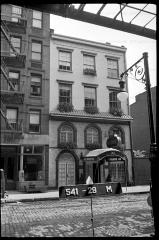85 West Third Street, 1940 NYC Tax Photo image. Click for full size.