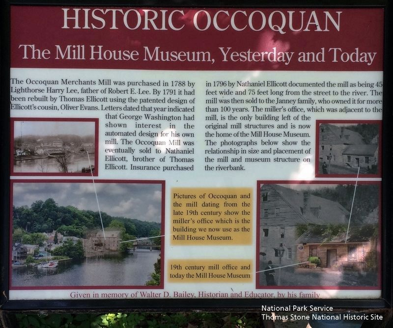 Historic Occoquan Marker image. Click for full size.
