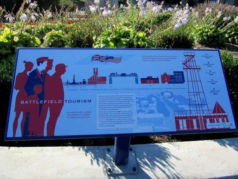 Battlefield Tourism Marker image. Click for full size.