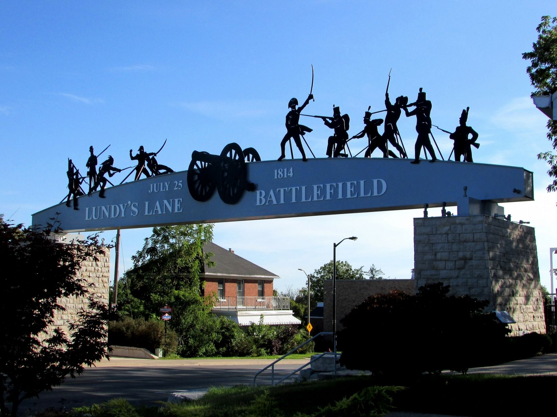 Lundy's Lane Battlefield Gateway image. Click for full size.