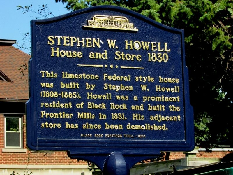 Stephen W. Howell Marker image. Click for full size.