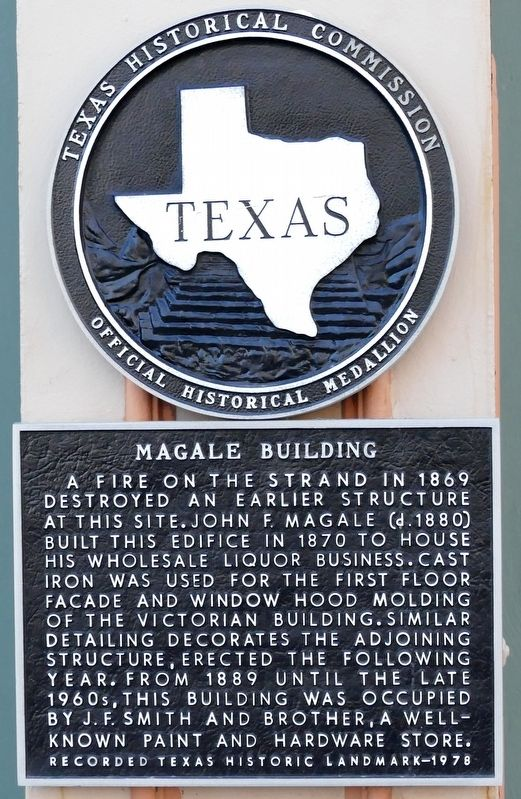 Magale Building Marker image. Click for full size.