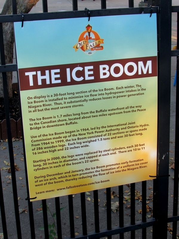 The Ice Boom Marker image. Click for full size.