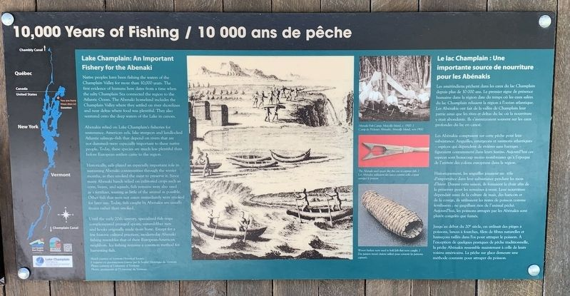 10000 Years of Fishing Marker image. Click for full size.
