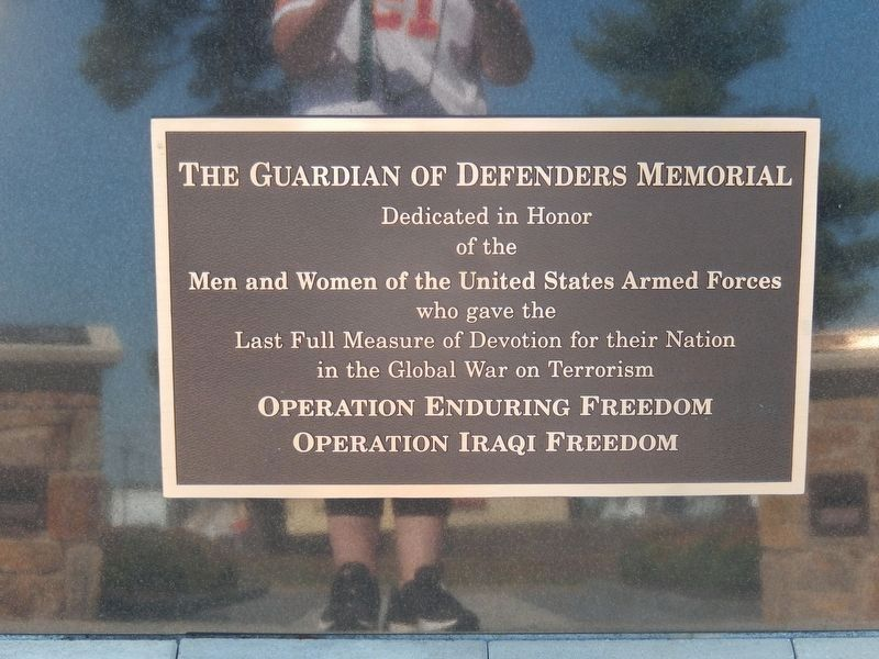 The Guardian of Defenders Memorial image. Click for full size.