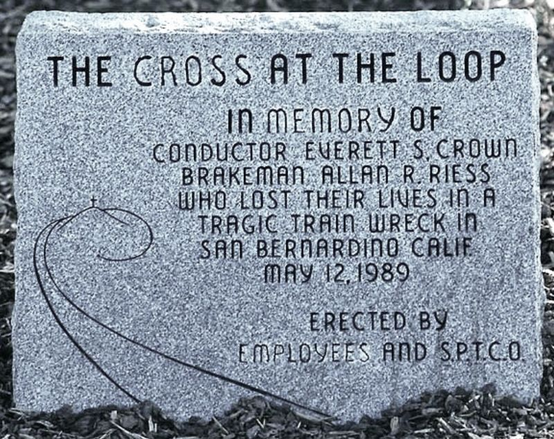 The Cross at the Loop Marker image. Click for full size.