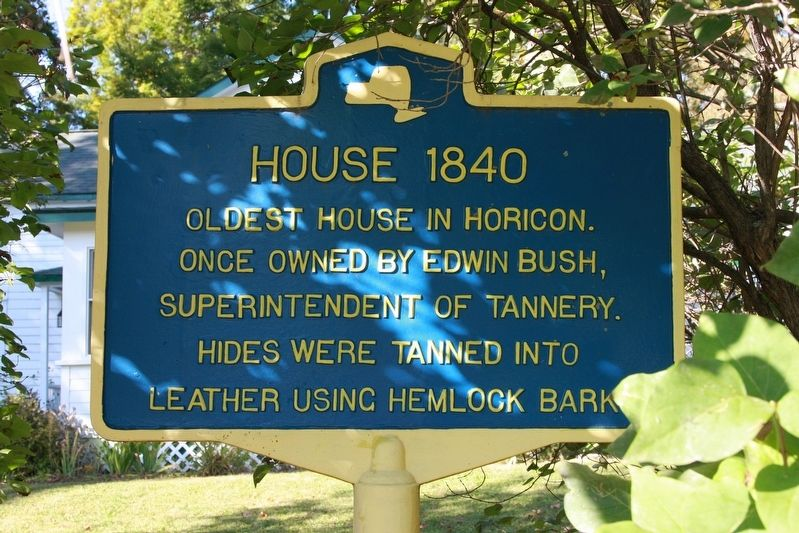 House 1840 Marker image. Click for full size.