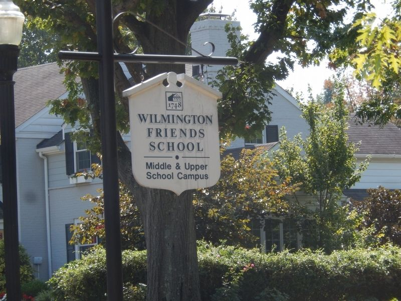 Wilmington Friends School Marker image. Click for full size.