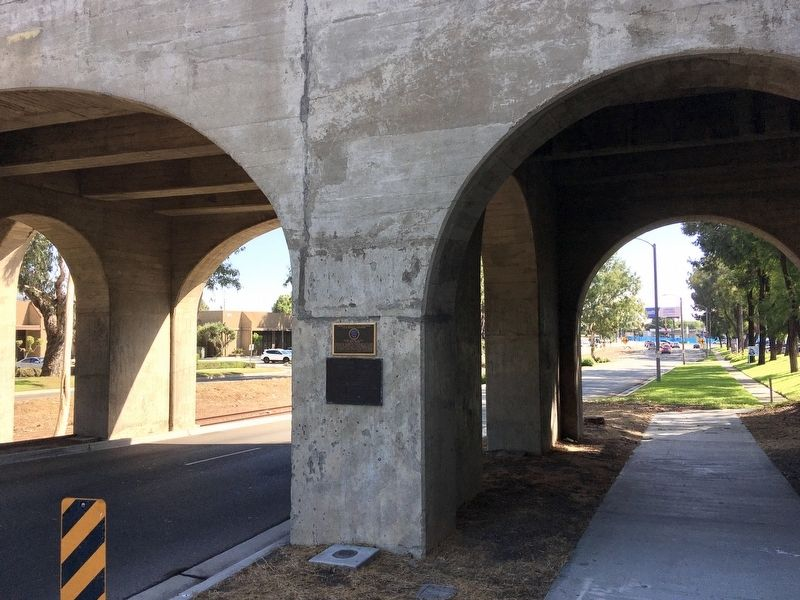 Pacific Electric Railway Bridge Marker image. Click for full size.