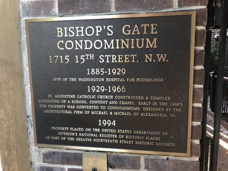Bishop's Gate Condominium Marker image. Click for full size.