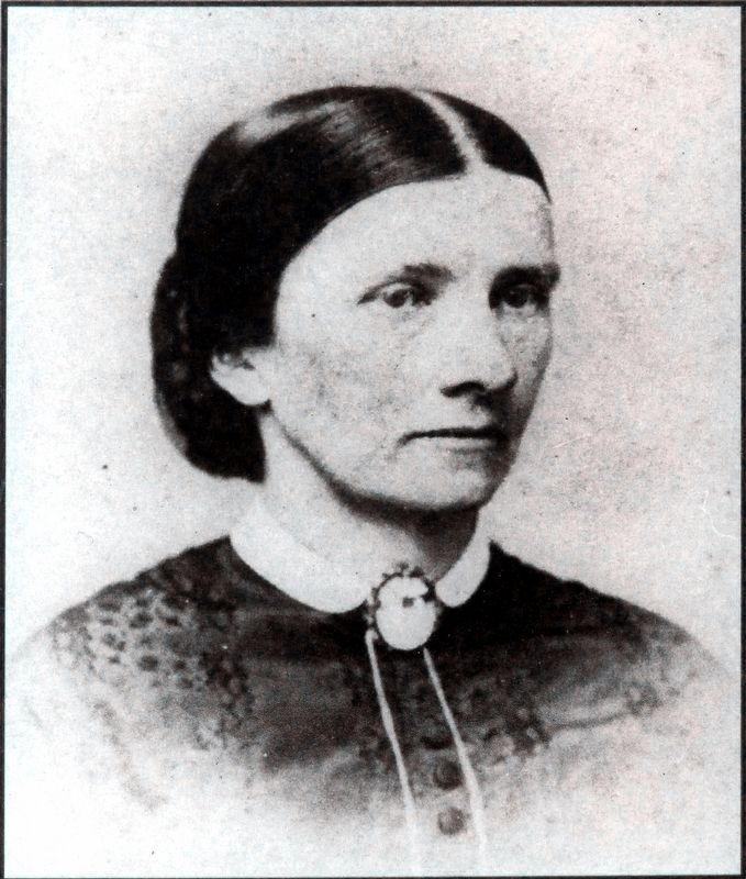 Maria Barlow ca. 1870 image. Click for full size.