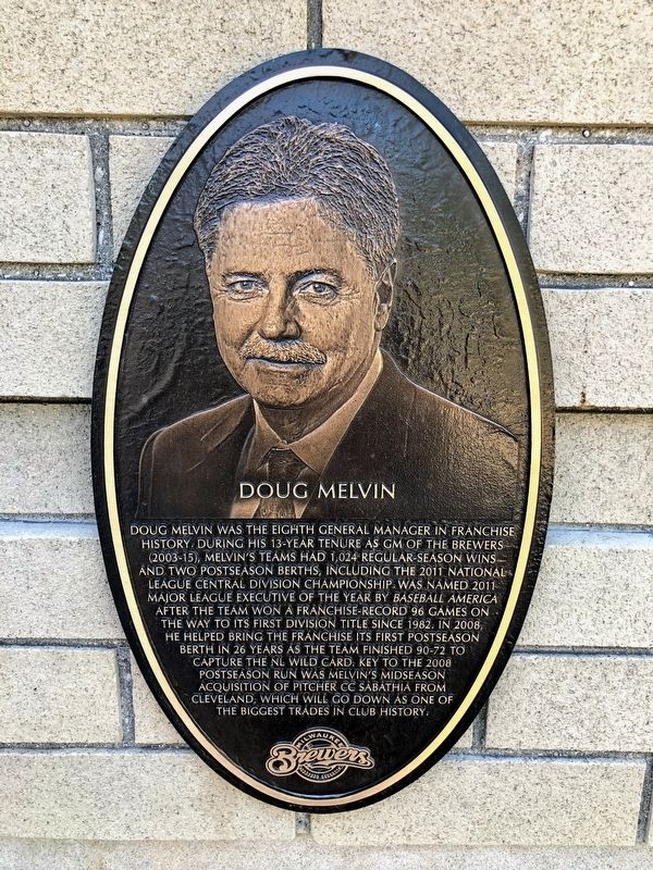 Doug Melvin Marker image. Click for full size.
