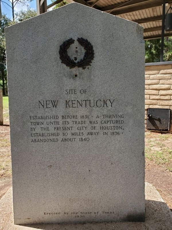 Site of New Kentucky Marker image. Click for full size.
