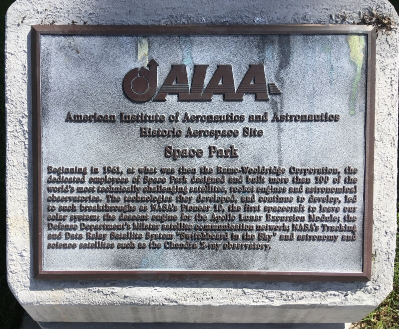 Space Park Marker image. Click for full size.