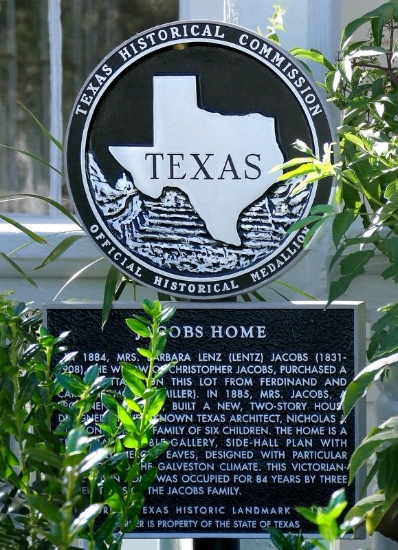 Jacobs Home Marker image. Click for full size.