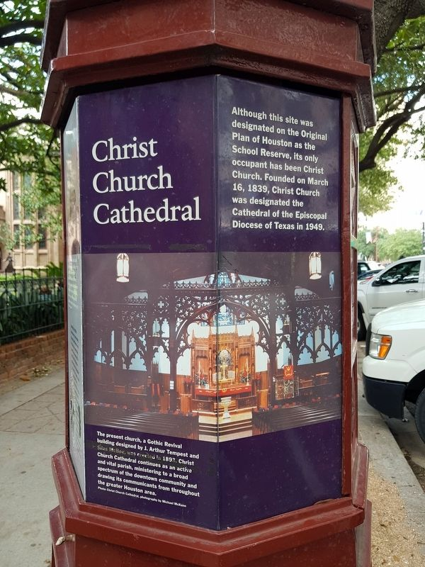 Christ Church Cathedral Marker image. Click for full size.