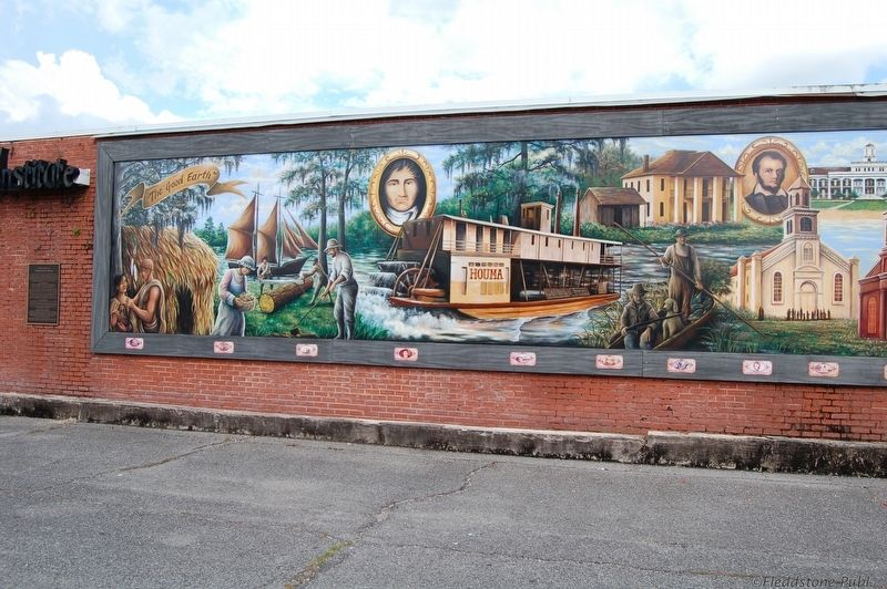 A History of Terrebonne Parish Mural image. Click for full size.