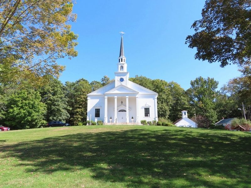 First Congregational Church of Canterbury image. Click for full size.