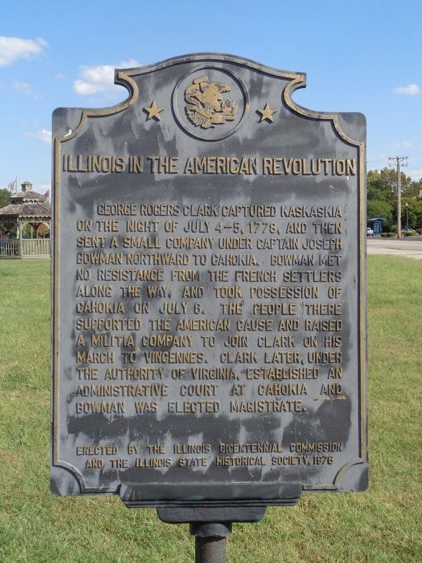 Illinois in the American Revolution Marker image. Click for full size.